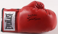 "Junior Jones Signed Everlast Boxing Glove Inscribed ""Poison"" (AWM Hologram) at PristineAuction.com"