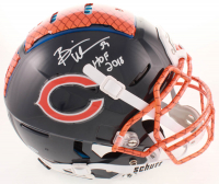 """Brian Urlacher Signed Bears Full-Size Authentic On-Field Hydro-Dipped F7 Helmet with Hall of Fame Logo Inscribed """"HOF 2018"""" (Beckett COA) at PristineAuction.com"""