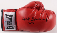 """Michael Spinks Signed Everlast Boxing Glove Inscribed """"Jinx"""" & """"31-1"""" (AWM Hologram) at PristineAuction.com"""