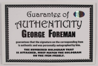George Foreman Signed 16x20 Photo (Foreman COA) at PristineAuction.com