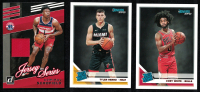 Lot of (3) Sports Cards with 2019-20 Donruss #212 Tyler Herro RR RC, 2019-20 Donruss #206 Coby White RR RC, & 2019-20 Donruss Jersey Series #93 Admiral Schofield at PristineAuction.com