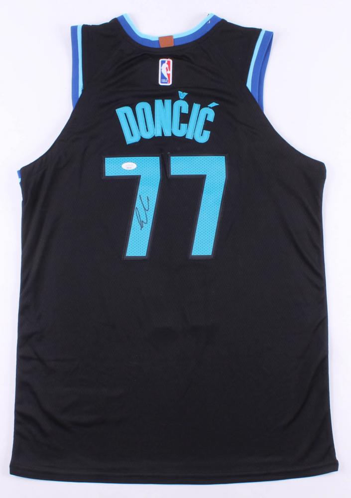 Luka Doncic Signed Mavericks Jersey Jsa Coa Pristine Auction