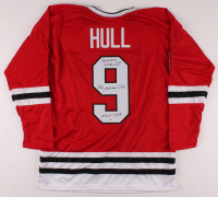 "Bobby Hull Signed Jersey Inscribed ""The Golden Jet"" & ""HOF 1983"" (Beckett COA) at PristineAuction.com"