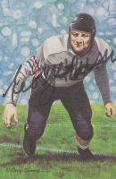 George Musso Signed 1991 LE Bears 4x6 Pro Football Hall of Fame Art Collection Card (JSA COA) at PristineAuction.com