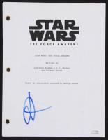 "J. J. Abrams Signed ""Star Wars: The Force Awakens"" Script (ACOA COA) at PristineAuction.com"