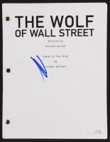 "Leonardo DiCaprio Signed ""The Wolf of Wall Street"" Script (AutographCOA COA) at PristineAuction.com"