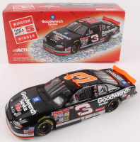 Dale Earnhardt LE NASCAR #3 GM Goodwrench Service Plus/No Bull/76th Win 2000 Monte Carlo -1:24 Scale Die Cast Car with Confetti at PristineAuction.com