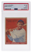 Babe Ruth 1933 Goudey #149 RC (PSA 3) (MK) at PristineAuction.com