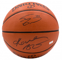 Kobe Bryant & Shaquille O'Neal Signed Official Game Ball Basketball with High-Quality Display Case (JSA COA & Panini Hologram) at PristineAuction.com