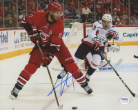 Jordan Staal Signed Hurricanes 8x10 Photo (PSA COA) at PristineAuction.com