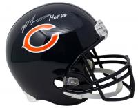 "Mike Singletary Signed Bears Full-Size Helmet Inscribed ""HOF 98"" (JSA COA) at PristineAuction.com"