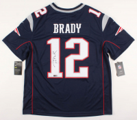 Tom Brady Signed Patriots Jersey (TriStar Hologram) at PristineAuction.com