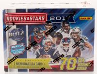 2017 Panini Rookies & Stars Football Blaster Box of (7) Packs at PristineAuction.com