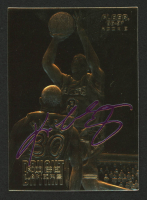 Kobe Bryant 1996 Fleer 23KT Gold Card / Purple Signature at PristineAuction.com