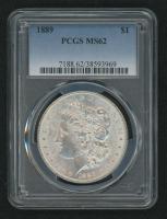 1889 Morgan Silver Dollar (PCGS MS62) at PristineAuction.com