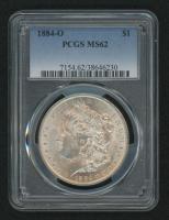 1884-O Morgan Silver Dollar (PCGS MS62) at PristineAuction.com