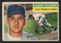 Harmon Killebrew 1956 Topps #164 at PristineAuction.com
