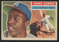 Hank Aaron 1956 Topps #31 at PristineAuction.com