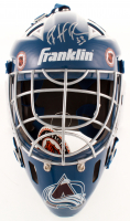 Patrick Roy Signed Avalanche Goalie Mask (Mounted Memories Hologram) at PristineAuction.com