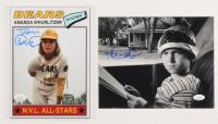 "Lot of (2) Tatum O'Neal Signed ""The Bad News Bears"" & ""Paper Moon"" 8x10 Photos (JSA COA) at PristineAuction.com"