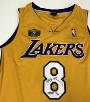 "Lot of (3) Kobe Bryant Signed ""3 Peat"" Lakers LE Jerseys (UDA COA) at PristineAuction.com"