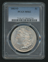1883-O Morgan Silver Dollar (PCGS MS62) at PristineAuction.com