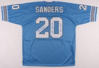 """Barry Sanders Signed Lions Jersey Inscribed """"NFL MVP 97"""" & """"HOF - 2004"""" (JSA Hologram) at PristineAuction.com"""