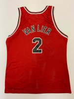 Norm Van Lier Signed Bulls Jersey (Beckett COA) at PristineAuction.com