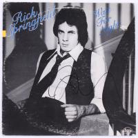 "Rick Springfield Signed ""Wait for Night"" Vinyl Record Album (JSA COA) at PristineAuction.com"