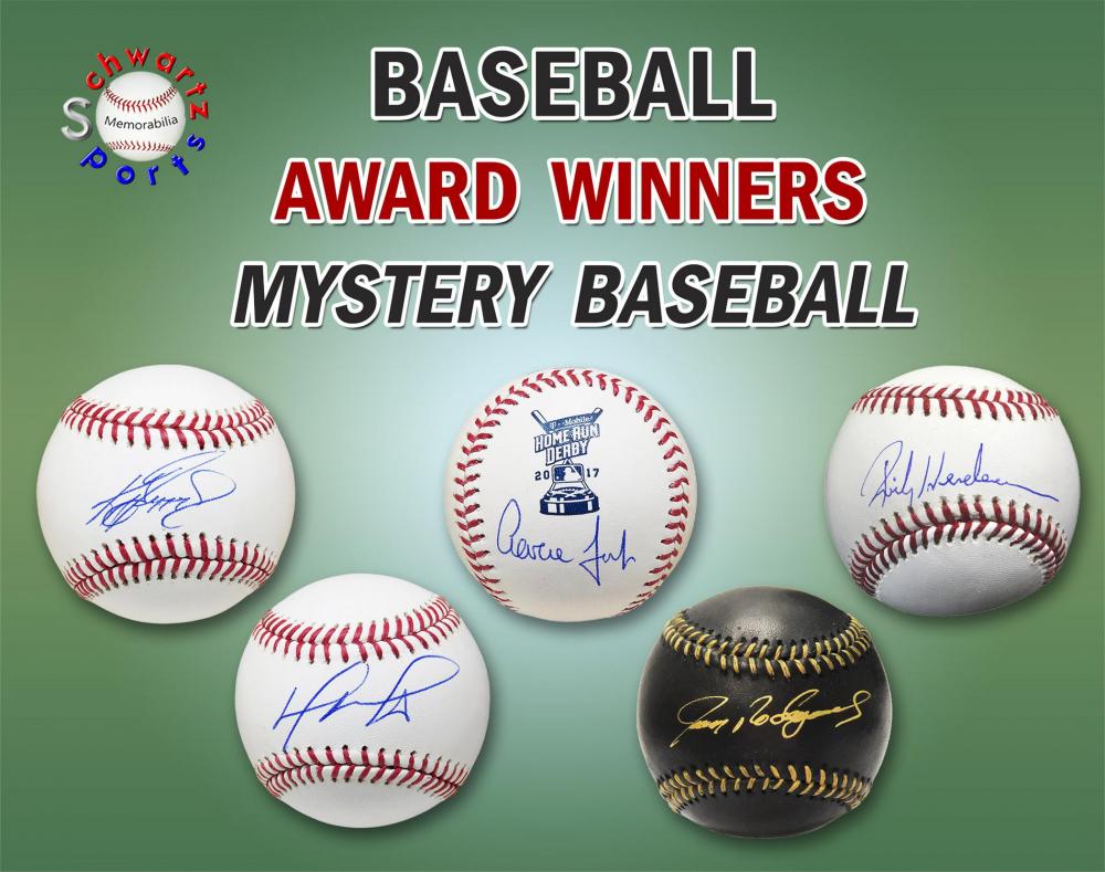 Schwartz Sports Baseball Award Winner Baseball Mystery Box - Series 7 (Limited to 100) at PristineAuction.com