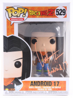 """Chuck Huber Signed """"Dragon Ball Z"""" #529 Android 17 Funko Pop! Vinyl Figure Inscribed """"Android 17"""" (TriStar Hologram) at PristineAuction.com"""