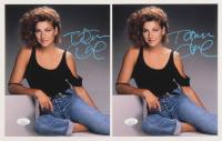 Lot of (2) Tatum O'Neal Signed 8x10 Photos (JSA COA) at PristineAuction.com