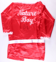 "Ric Flair Signed ""Nature Boy"" Wrestling Robe Inscribed ""16x"" (JSA COA) at PristineAuction.com"