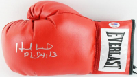 Evander Holyfield Signed Everlast Boxing Glove (PSA COA) at PristineAuction.com