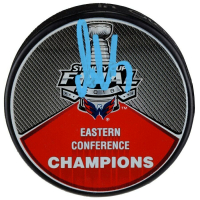 Alexander Ovechkin Signed Capitals Eastern Conference Champions Hockey Puck (Fanatics Hologram) at PristineAuction.com