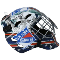 Igor Shestyorkin Signed Rangers Full-Size Hockey Goalie Mask (Fanatics Hologram) at PristineAuction.com