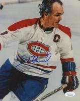 Henri Richard Signed Canadiens 8x10 Photo (JSA COA) at PristineAuction.com