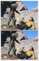 "Lot of (2) Bobby Clark Signed ""Star Trek"" 11x14 Photos Inscribed ""The Gorn"" (JSA COA) at PristineAuction.com"