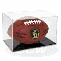 Full-Size Football Display Case - Grandstand at PristineAuction.com