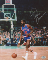 Earl Monroe Signed Knicks 8x10 Photo (SOP COA) at PristineAuction.com