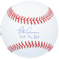 "Pete Alonso Signed Baseball Inscribed ""2019 NL ROY"" (Fanatics Hologram) at PristineAuction.com"