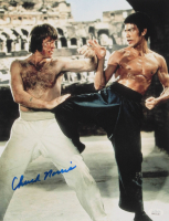 "Chuck Norris Signed ""The Way of the Dragon"" 11x14 Photo (JSA COA) at PristineAuction.com"
