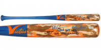 """Pete Alonso Signed Dove Tail Player Issued Baseball Bat Inscribed """"Player Issued 2019 HRD"""" & """"2019 HRD Champ""""  (Fanatics Hologram) at PristineAuction.com"""
