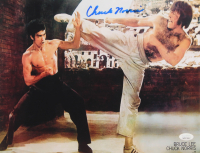 """Chuck Norris Signed """"The Way of the Dragon"""" 11x14 Photo (JSA COA) at PristineAuction.com"""
