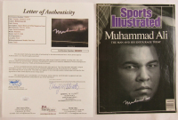 Muhammad Ali Signed 1988 Sports Illustrated Magazine Cover (JSA LOA) at PristineAuction.com