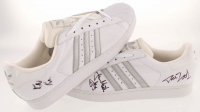 "Rev Run, Jam Master Jay, & D.M.C. Signed ""Run-D.M.C."" Adidas Shoes (Beckett LOA) at PristineAuction.com"