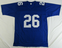 Saquon Barkley Signed Jersey (JSA Hologram) at PristineAuction.com