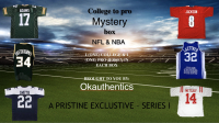 OKAUTHENTICS College to Pro Football & Basketball Jersey Mystery Box - Series 1 at PristineAuction.com