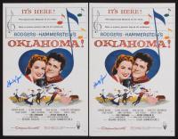 "Lot of (2) Shirley Jones Signed ""Oklahoma!"" 11x17 Photo (JSA COA) at PristineAuction.com"
