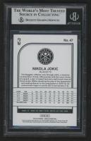 Nikola Jokic Signed 2019-20 Hoops #47 (BGS Encapsulated) at PristineAuction.com